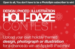 PhotoSpin Announces It's Holi-Daze Design Contest