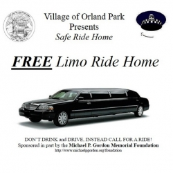Free Limo Ride Home in Chicago South Suburbs