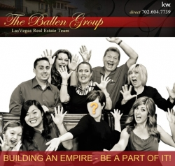 The Ballen Group of Keller Williams, Las Vegas Real Estate Agent Team, Has Promoted Tom Wirt to CEO