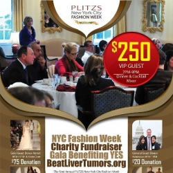 Fashion Designers Unite with Cancer Patients at PLITZS NYC Fashion Show Charity Fundraising Gala
