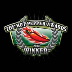Smoke Canyon's Smoke Roasted Jalapeño Sauce Wins Overall in the Hot Pepper Awards 2012