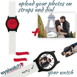 Wysiwatch, the Personalized Gift for Valentine's Day