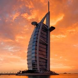 Burj Al Arab, Dubai Receives Seven Stars Award