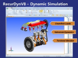 FunctionSIM LLC Announces Release of RecurDyn V8R1 from FunctionBay, Bringing Together Motion, Stress and Durability Simulation in One Multi-Physics Software
