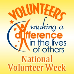 Celebrate Volunteer Appreciation Week 2013 with Positive Promotions Inspiring Recognition Gifts