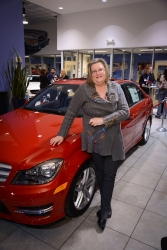 "Denver Real Estate Agent Accurately Predicts Winning a New Mercedes Benz in Taylor Morrison's ""Keys to Success"" Giveaway"