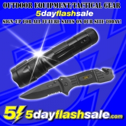 5DayFlashSale.com Plans Tactical Gear and Outdoor Equipment at Discounted Flash Sale Prices