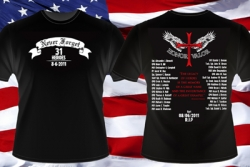 American Hero T Shirt Launches Patriotic Shirts in Honour of Fallen 31 Heroes in Afghanistan
