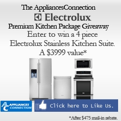 The AppliancesConnection Electrolux Premium Kitchen Package Giveaway