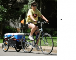 Meals On Wheels West Delivers on Two Wheels