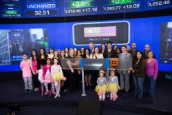 Dancing Dreams Rings the NASDAQ Stock Market Opening Bell