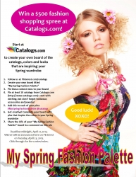 """Catalogs.com Flaunts """"Fashionista Flair"""" on Pinterest with $500 Shopping Spree Contest"""