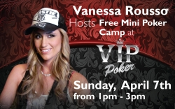 Team Pokerstars Pro Vanessa Rousso Hosts Free Mini-Camp at VIP Poker Room in Kahnawake, Quebec