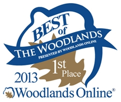 """Amazing Spaces® Storage Centers Voted """"Best of The Woodlands""""  in Self Storage Category for the Fourth Year in a Row"""