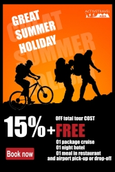 Lucky Adventure Travel Indochina – Summer Promotion 2013