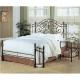 Custom Bedding - Orange Mattress
