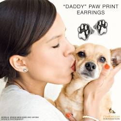 "Pennyroyal Studio Announces ""Daddy"" Paw Print Earrings with Cesar Millan"