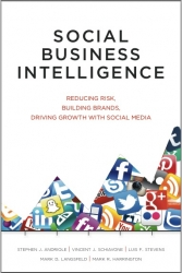 Social Business Intelligence Book Industry's First Executive SBI Guide