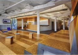 Globus Cork Floor Installed at New York University