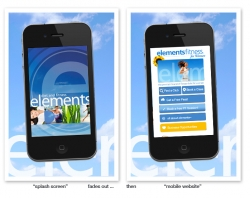 elements fitness for women Launches Mobile Website and Expanded Member Tools