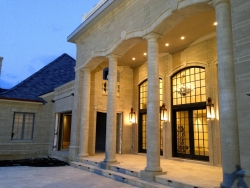 Dramatic Design of Chateau-Themed Luxury Home Grabs Attention