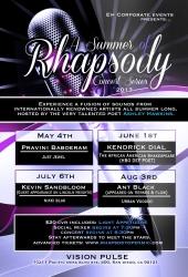A Summer of Rhapsody Concert Series