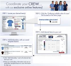 Uniform Advantage Introduces Group Ordering Online