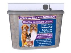 Marvelous Products Introduces Its Most Advanced Glucosamine for Dogs, Osteo-Pet® Total Joint Care in a Bacon and Cheese Flavored Soft Chew