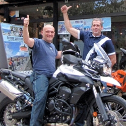 Ecuador Freedom Bike Rental & Tours Brings Triumph Tiger 800 X/C Into Its Adventure Motorcycle Fleet