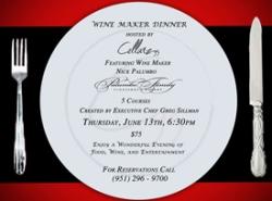 Cellarz93 Starts Winemaker Dinner Series Featuring Palumbo Winery