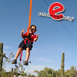 Bandits Adding Mobile Zip Line by Extreme Engineering for 2013