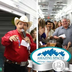 Self Storage Provider, Amazing Spaces® Storage Centers, Raises $33,500 for  Shriners Hospitals for Children and Celebrates 15th Anniversary