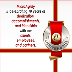 MicroAgility, Inc. Celebrates Its 10th Anniversary with Gratitude