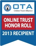 High-Tech Bride Named a Top Trusted Website in OTA's 2013 Online Trust Honor Roll