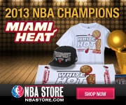 Online Mega Mall MyReviewsNow.net and Partner NBA Store Join Together to Congratulate 2013 NBA Champion Miami Heat