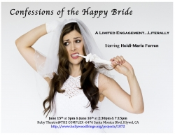 Heidi-Marie Ferren Comes to Hollywood to Perform One Woman Show