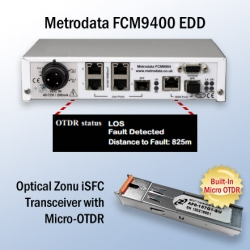 Optical Networking Upstarts Look to Disrupt Operational Paradigm with Built-In Micro OTDR Feature