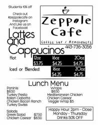 Coffee Speciality Passions Run High at Zeppole Cafe