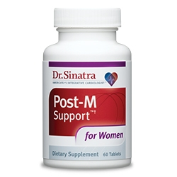 Healthy Directions & Dr. Sinatra Launch Post-M Support™ for Women, a Post-Menopause Supplement