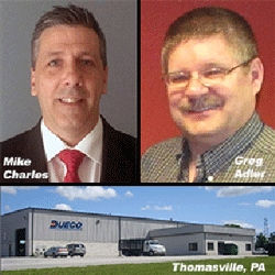 DUECO Inc. Expands Support with New Facility at Thomasville, PA, a New Service Manager and Aftermarket Sales Specialist