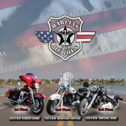 Harleys for Heroes Announces Giveaway Winners