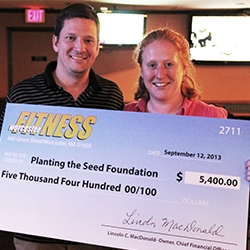 Worcester Fitness 5K Produces $5,000 Donation for Planting the Seed Foundation