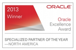 KPI Partners Recognized with Prestigious Oracle Excellence Awards for Specialized Partner of the Year – North America in Business Intelligence & Education