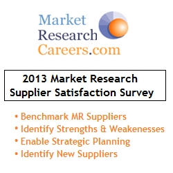 MarketResearchCareers Announces Market Research Suppliers with the Highest Level of Customer Satisfaction
