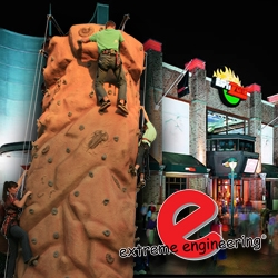 Disneyland's ESPN Zone Gets Extreme with a Climbing Wall