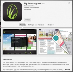 Lemongrass Spa Launches Its First Mobile App