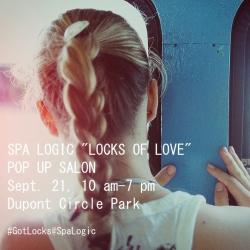 Spa Logic Pop Up Salon in Dupont Circle Park