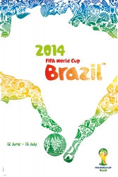 2014 FIFA World Cup Brazil™ Official Poster and Host City Posters Now Available Online