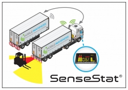 Easy-Swap Obstacle Detection Sensor System for Tractor-Trailers Now Available