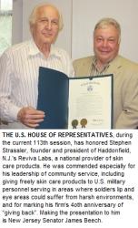 Legislature Honors Reviva Labs for Aiding U.S. Soldiers